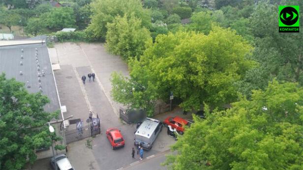 Akcja policji na Woli Kontakt24