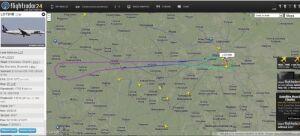 Samolot LOT-u zawrócił przez usterkę