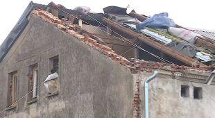Zerwany dach w Godzinowicach