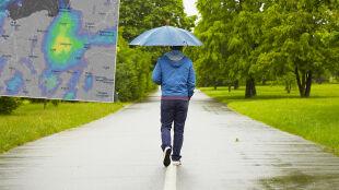 To będą chłodniejsze dni. W wielu miejscach przelotny deszcz