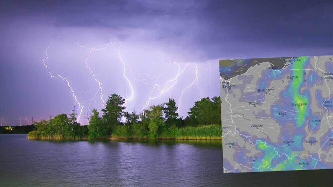 Pogoda na 5 dni: majowe lato zwieńczą burze z gradem