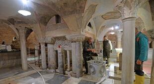 Zalana bazylika w Wenecji (PAP/EPA/ANDREA MEROLA)