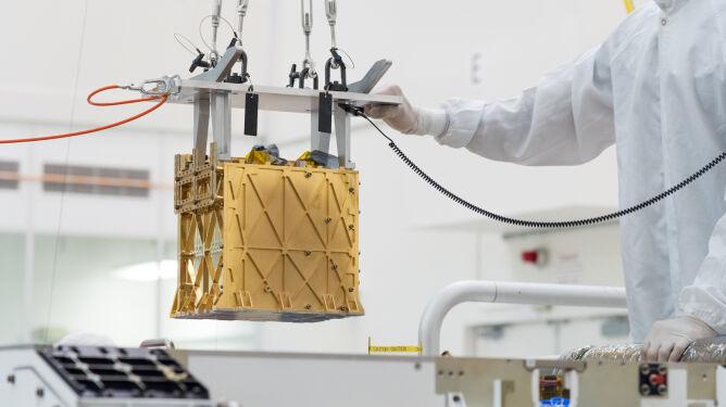 Tak wygląda instrument MOXIE (NASA / JPL-Caltech)