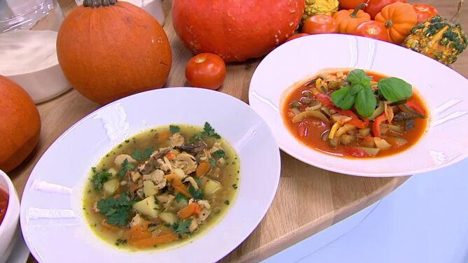 Rozgrzewające zupy na jesień.<br /> Sprawdź, jak zmienić smak klasycznych dań