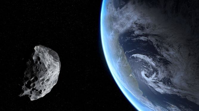 """""""Potencjalnie niebezpieczna"""" asteroida przeleci w piątek blisko Ziemi"""