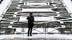 Zima w Belgii (PAP/EPA/STEPHANIE LECOCQ)