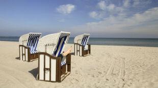 Piękny dzień na wschodzie polskiego wybrzeża