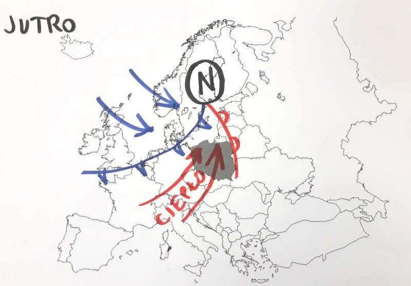 Prognoza pogody na sobotę (tvnmeteo.pl)