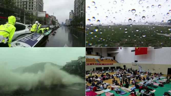 Tajfun In-fa w Chinach. Kilkadziesiąt tysięcy połamanych drzew, domy bez prądu