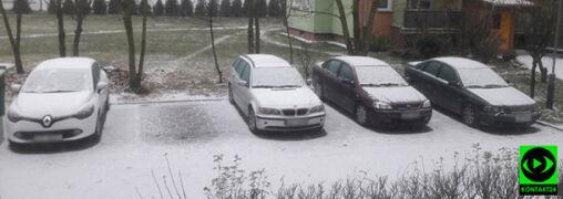 Śnieżna zima dotarła do Polski. Biało zrobiło się w wielu miejscach