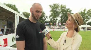 Anna Dec rozmawia z Marcinem Gortatem, byłym zawodnikiem NBA